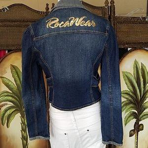 RocaWear Sequin Jean jacket